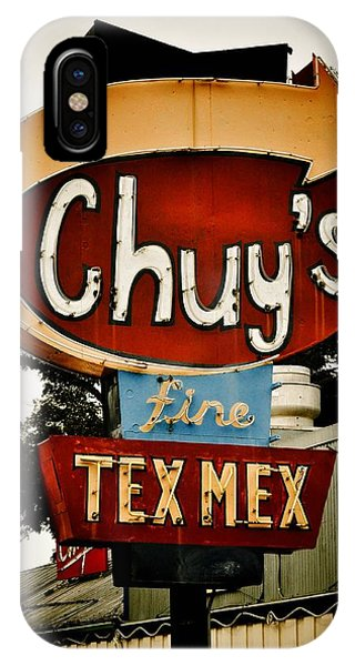 Chuy's Sign 2 IPhone Case