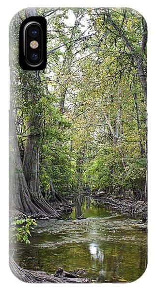 Cibolo Creek - 2 IPhone Case