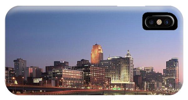 Cincinnati In Morning Twilight IPhone Case
