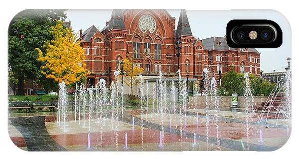 Cincinnati Music Hall 0001 IPhone Case