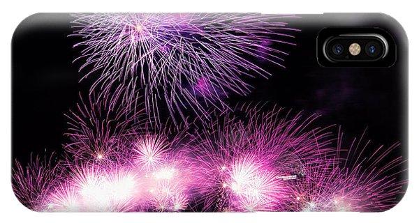 Cincinnati Reds Fireworks Friday IPhone Case