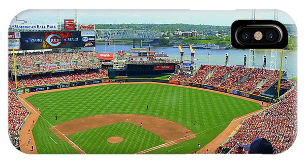 Cincinnati Reds Stadium IPhone Case