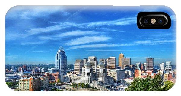 Cincinnati Skyline 2 IPhone Case