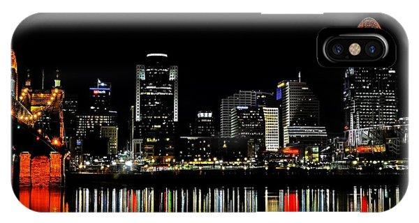 Cincinnati Skyline Dreams 3 IPhone Case