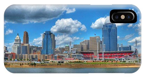 Cincinnati Skyline IPhone Case
