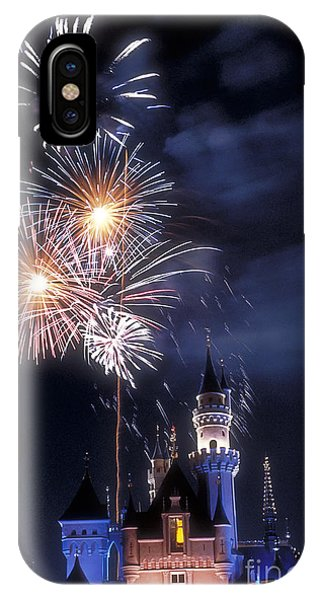 Cinderella Castle Fireworks Iconic Fairy-tale Fortress Fantasyland IPhone Case