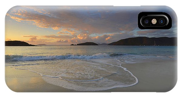 Cinnamon Bay At Sunset IPhone Case