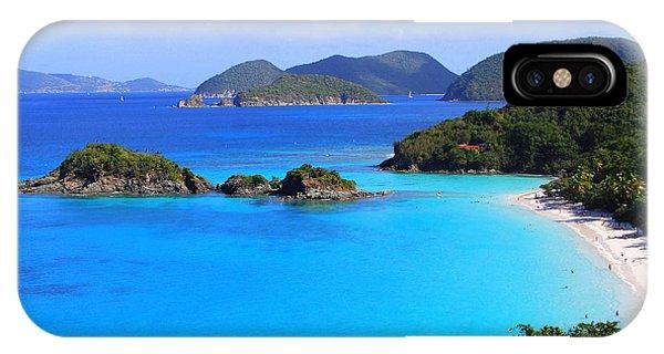 Cinnamon Bay St. John Virgin Islands IPhone Case