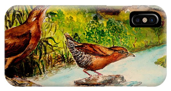Cinnamon Bittern IPhone Case