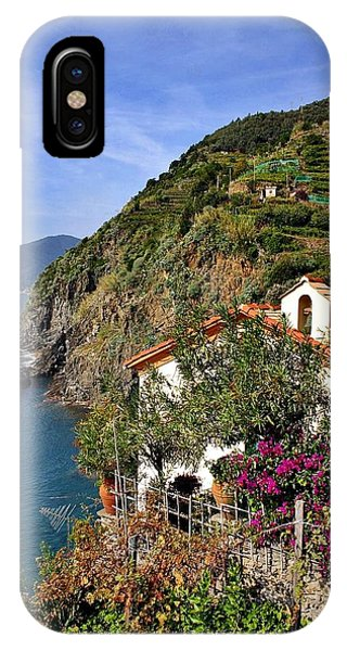 Cinque Terre Seaside IPhone Case