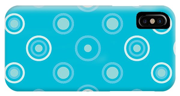 Paper iPhone Case - Circle Abstract Pattern.halftone Dotted by Miloje