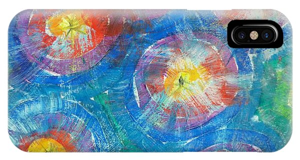 Circle Burst IPhone Case