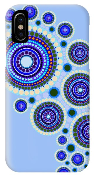 Circle Motif 117 IPhone Case