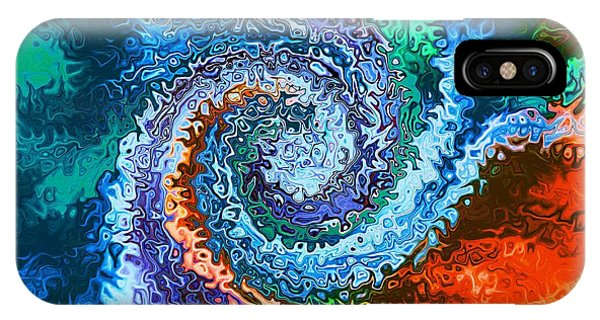 Circle Of Colors Abstract Art IPhone Case