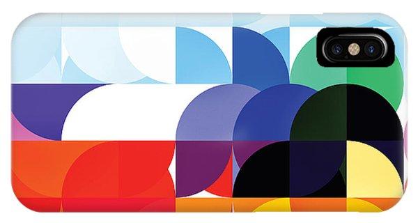 Circle Ship Abstract IPhone Case