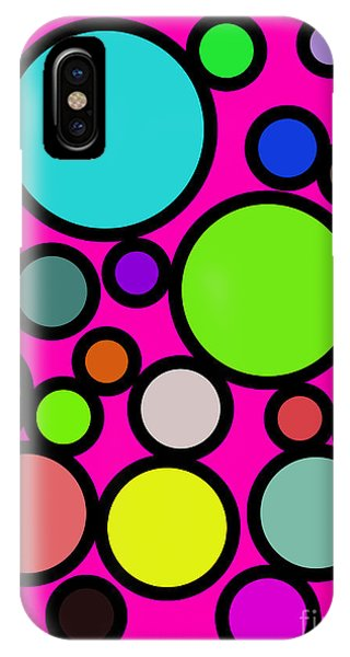 Circles Galore IPhone Case