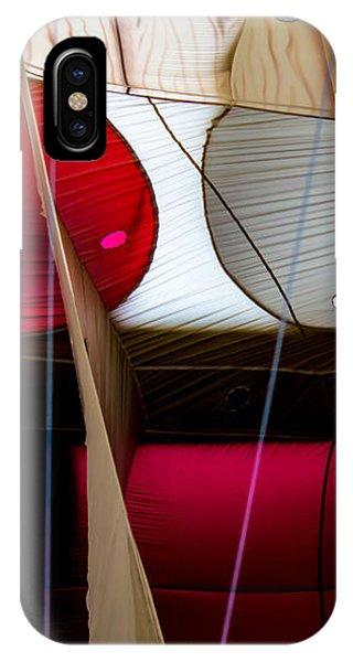 Circles Within Circles - Inside A Hot Air Balloon IPhone Case