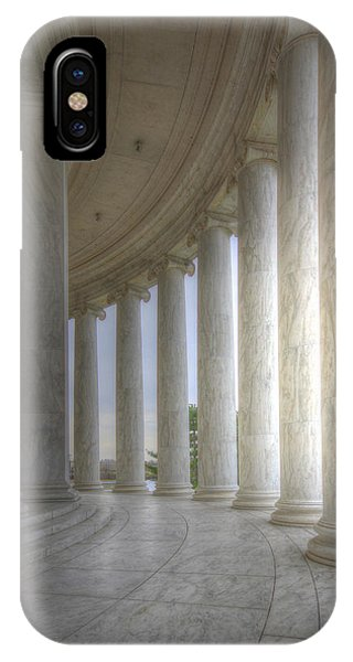 Circular Colonnade Of The Thomas Jefferson Memorial IPhone Case