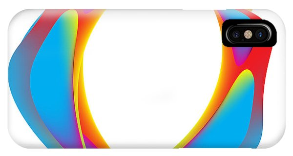 Circularity No. 1495 IPhone Case