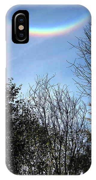 Treeline iPhone Case - Circumzenithal Arc by Eckhard Slawik
