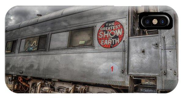 Circus Train IPhone Case