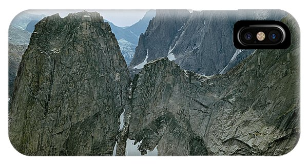 209615-cirque Of Towers, Wind Rivers, Wy IPhone Case