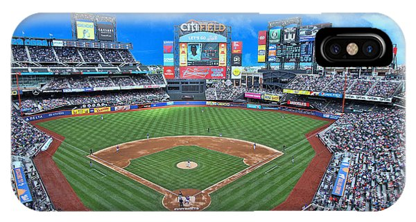 Citi Field - Home Of The N Y Mets IPhone Case