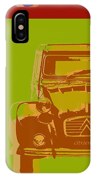 Citroen 2cv IPhone Case