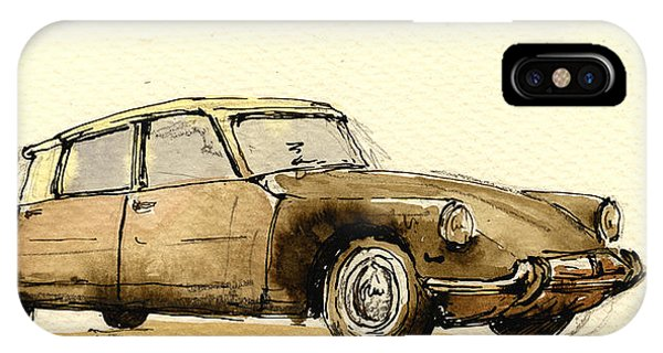 Vehicles iPhone Case - Citroen Cs by Juan  Bosco