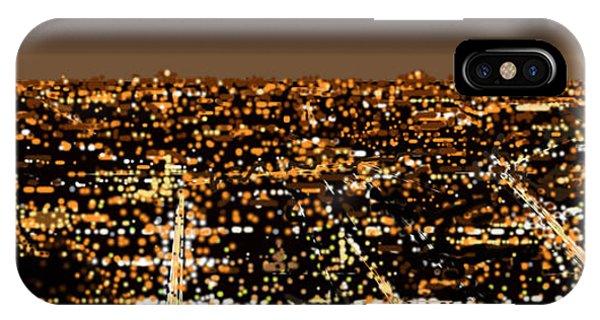 City At Night IPhone Case