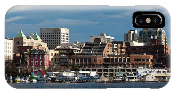 Inner World iPhone Case - City At The Waterfront, Inner Harbor by Panoramic Images