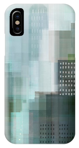 City Scenes iPhone Case - City Emerald by Dan Meneely
