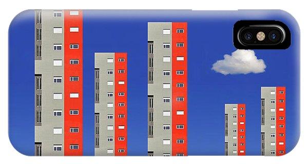 Tower iPhone Case - City Family by Aleksandar Naumceski