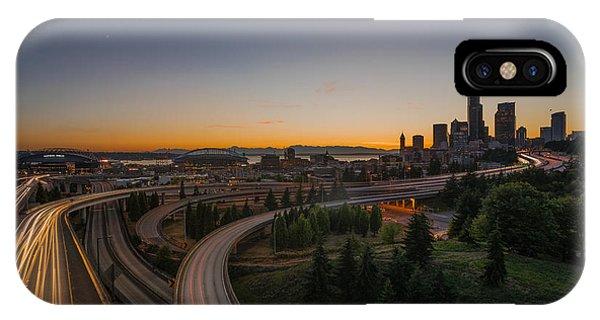 City Flow IPhone Case