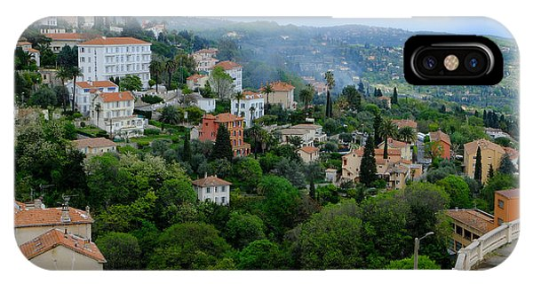 City Hills Of Grasse France IPhone Case