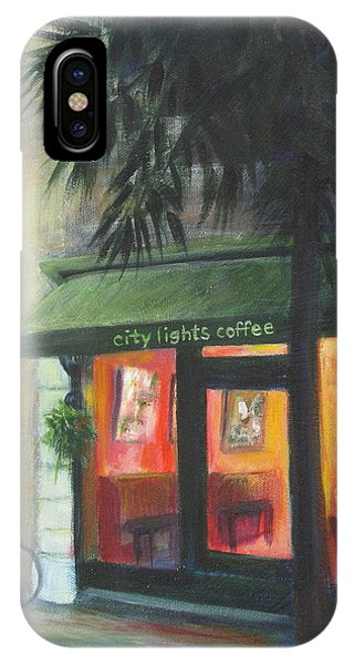 City Lights On Market St. IPhone Case