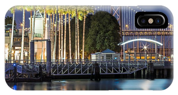 City Lights On Mission Bay IPhone Case