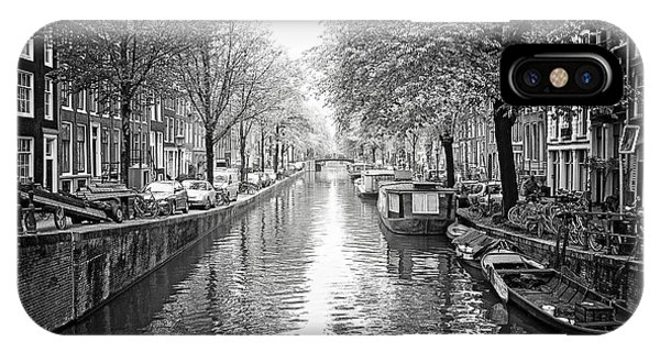 IPhone Case featuring the photograph City Of Canals by Ryan Wyckoff