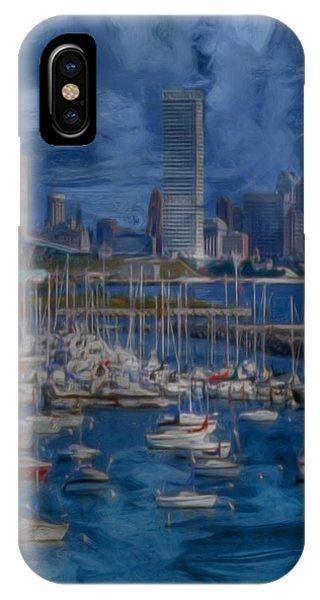 City Of Milwaukee Along Lake Michigan IPhone Case