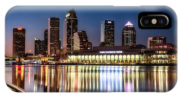 City Of Tampa Skyline  IPhone Case