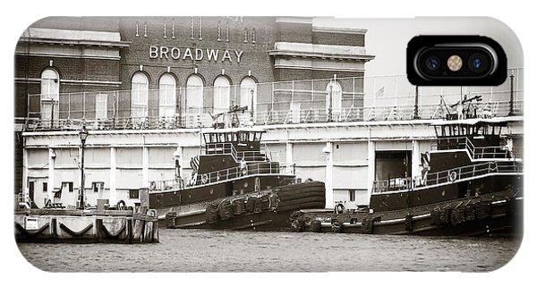 City Pier Broadway IPhone Case
