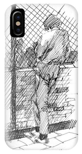 City Sketcher IPhone Case