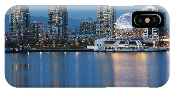 IPhone Case featuring the photograph City Skyline -vancouver B.c. by Bryan Mullennix