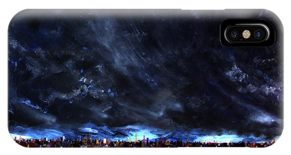 City Storm II IPhone Case