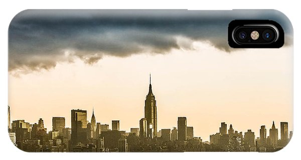 City Storm IPhone Case