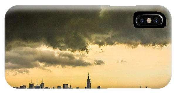 City Storm Wide IPhone Case