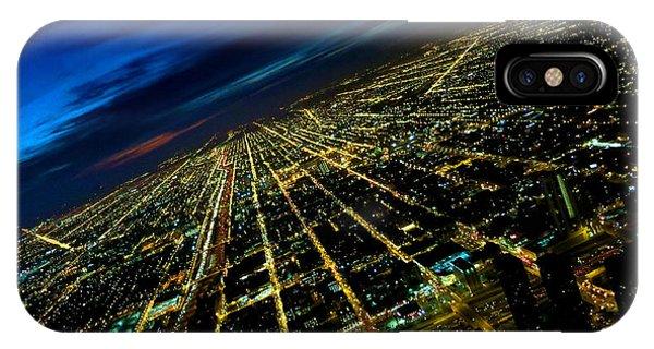 City Street Lights Above IPhone Case