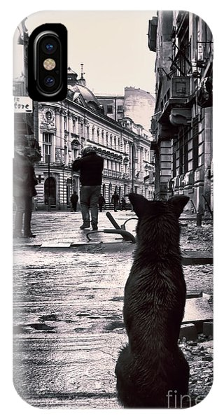 City Streets And The Theory Of Waiting IPhone Case