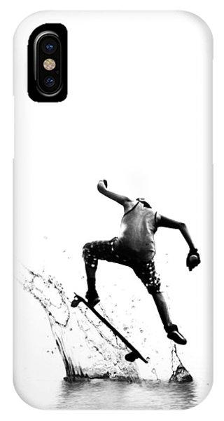 City Surfer IPhone Case