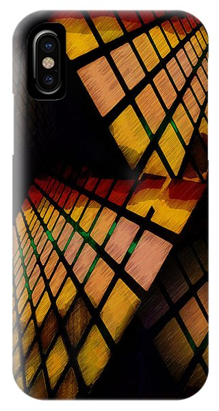 City View Abstract IPhone Case